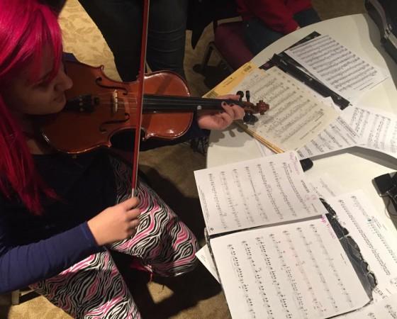 Coolest Violinist Eva