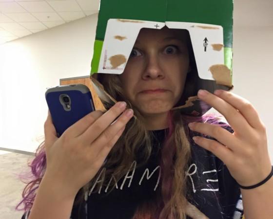 Alyssa in a Box